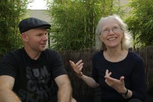 Shaun Gladwell and Dr. Cynthia Rosenzweig