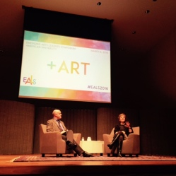 Listening to Deborah Rutter speak about the Kennedy Center