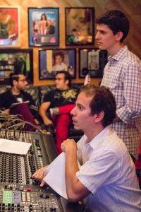 Dafnis Prieto + Eric Oberstein in Studio by David Garten